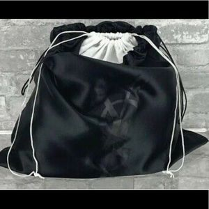 YSL HUGE satin lined dust bag cover travel 22 x 19